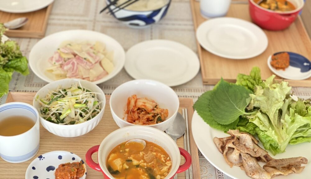 身体が温まる韓国料理